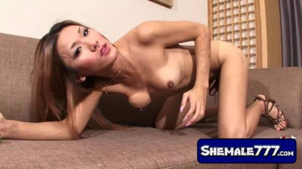 Shemale-Japan: Karina Shiratori - Karina Cums For You (720p)