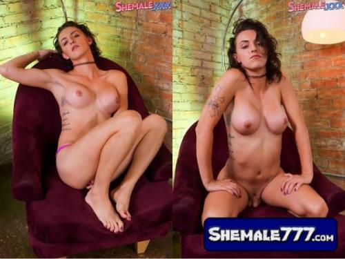 SheMale.Xxx: Miss Capone - Tall, Slim And Flirty Miss Capone! (720p)