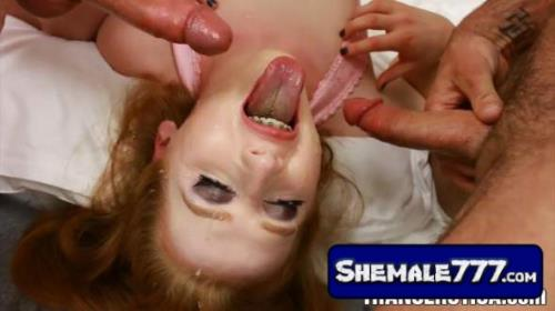 TransErotica: Shiri Trap - Double Blowjob Action (1080p, MP4)