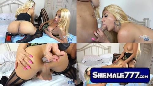 AngelesCid: Angeles Cid, Tania Quintanilla - Double CumShots (HD 720p)