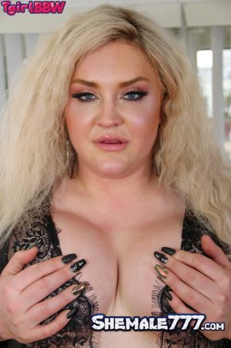 Grooby, TGirlBBW: Nathalie Presley - Nathalie Is So Naughty In Black! (FullHD 1080p)