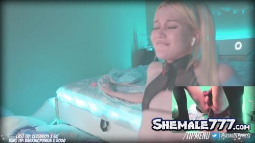 Chaturbate: Blondelashes19 - Solo with Dildo (FullHD 1080p)