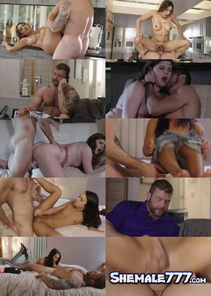 Ricky Greenwood, Mile High Media, Transsensual: Khloe Kay, Colby Jansen, Jessy Dubai, Chelsea Poe, Wesley Woods, Dante Colle - My TS Stepdaughter (FullHD 1080p)