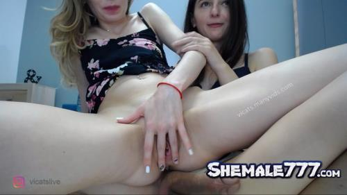 ManyVids: VicaTS, Milla - 18.05.27 Shemale Webcams Video (FullHD 1080p)