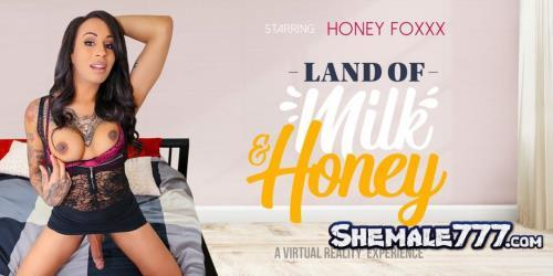 VRBTrans: Honey Foxxx - Land of Milk and Honey (UltraHD 2K 1920p)