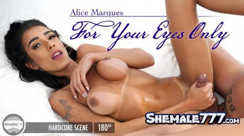 GroobyVR: Alice Marques - For Your Eyes Only (UltraHD 2K 1920p)
