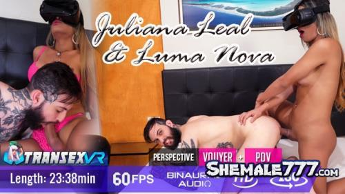 TransexVR: Juliana Leal - Shemale Tops Guy (UltraHD 2K 1920p)