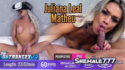 TransexVR: Juliana Leal, Mateu - Shemale On Male (UltraHD 2K 1920p)