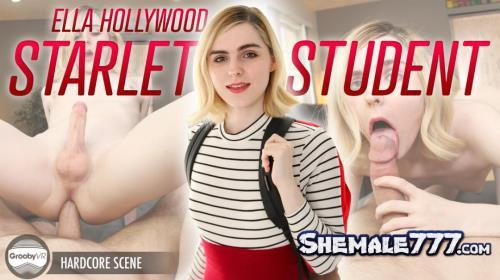 GroobyVR: Ella Hollywood - Starlet Student (UltraHD 2K 1920p)