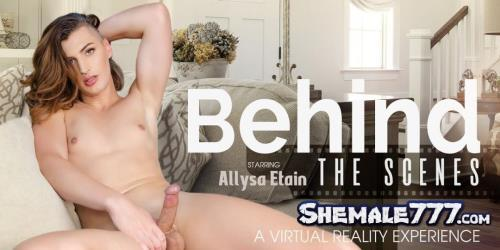 VRBTrans: Allysa Etain - Behind the Scenes (UltraHD 2K 1920p)