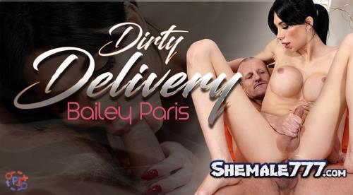 TSVirtualLovers: Bailey Paris - Dirty Delivery (UltraHD 2K 1920p)