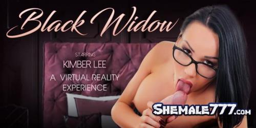 TSVirtualLovers: Kimber Lee - Dinner With Kimber - Black Widow (UltraHD 2K 1920p)