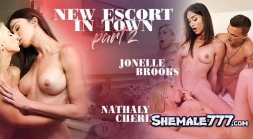 TSVirtualLovers: Jonelle Brooks, Nathaly Cherie - New Escort In Town - Part 2 (UltraHD 2K 1920p)