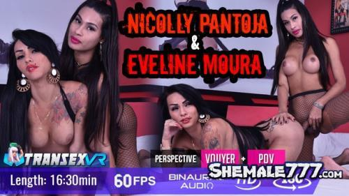 TransexVR: Nicolly Pantoja, Eveline Moura - Shemale On Shemale (UltraHD 2K 1920p)