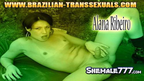 Brazilian-Transsexuals: Alana Ribeiro - Shows Off Her Sexy Body! (HD 720p)