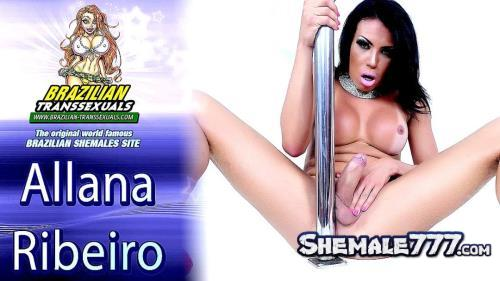 Brazilian-Transsexuals: Alana Ribeiro - Works That Pole! (HD 720p)