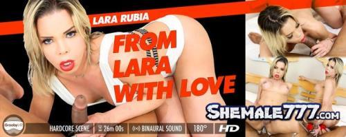 GroobyVR: Lara Rubia - From Lara With Love (HD 960p)
