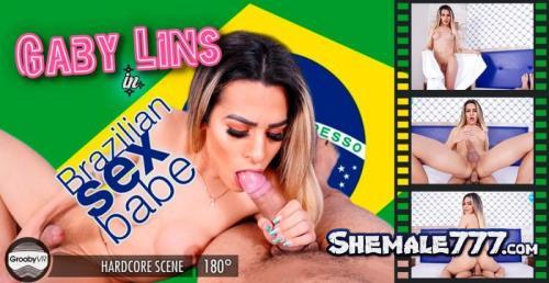 GroobyVR: Gaby Lins - Brazilian Sexbabe (UltraHD 2K 1920p)