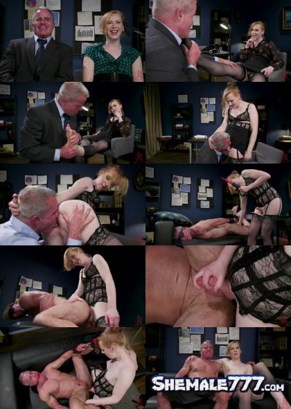 TSSeduction, Kink: Shiri Allwood, Dale Savage - Getting Ahead: Shiri Allwood Owns Her Boss, Dale Savage With Her Cock (HD 720p)