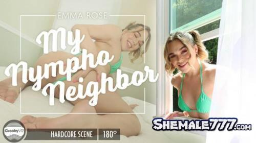 GroobyVR: Emma Rose - My Nympho Neighbor (HD 960p)