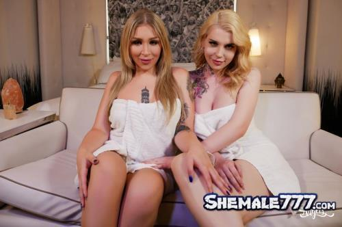 TransAngels: Angelina Please, Gracie Jane - Spa Day With My Bestie (FullHD 1080p)