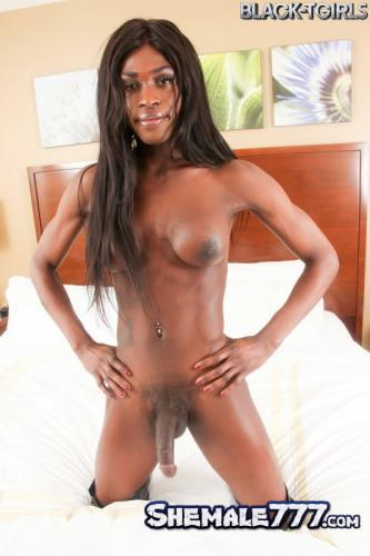 Black-TGirls: Shannon Pipes - Cums! (FullHD 1080p)