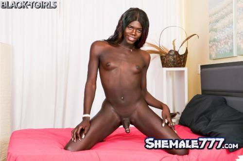 Black-TGirls: Jack Flash - Joslyn Strokes And Cums! (SD 480p)
